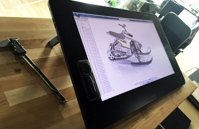 Wacom Interactive 3D Modelling Pen Displays