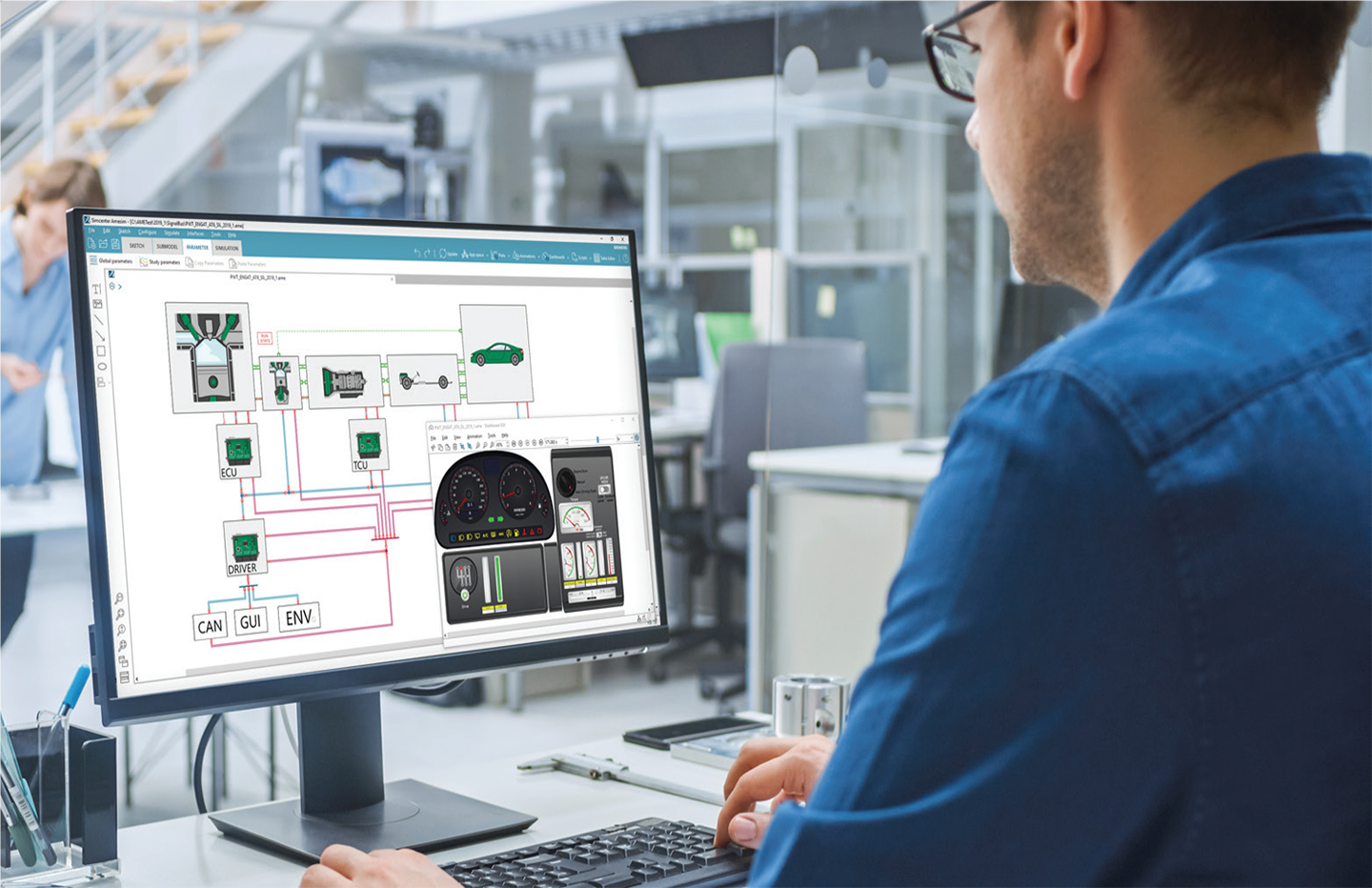Siemens Simcenter Amesim Design Performance Simulation