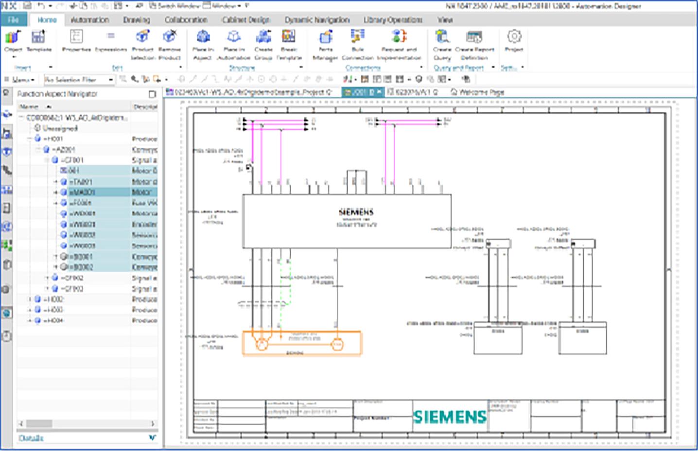 Siemens NX Industrial Electrical Design Tools Software
