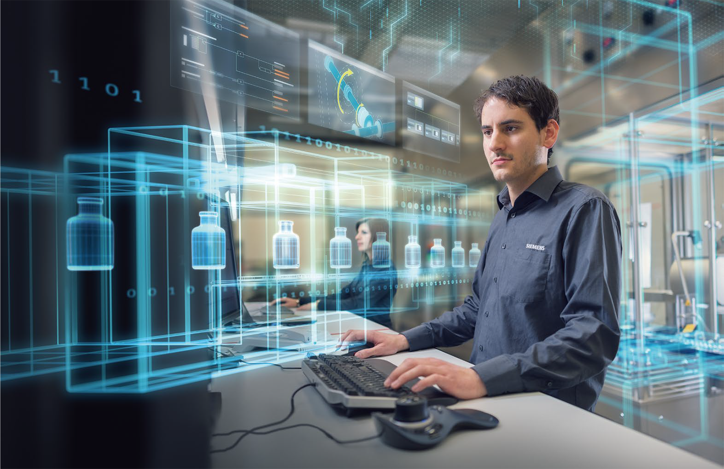 siemens virtual commissioning digital twin software