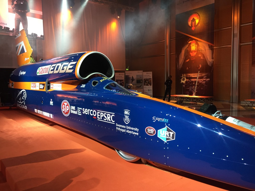 Curtain lifted on Bloodhound SSC for first time