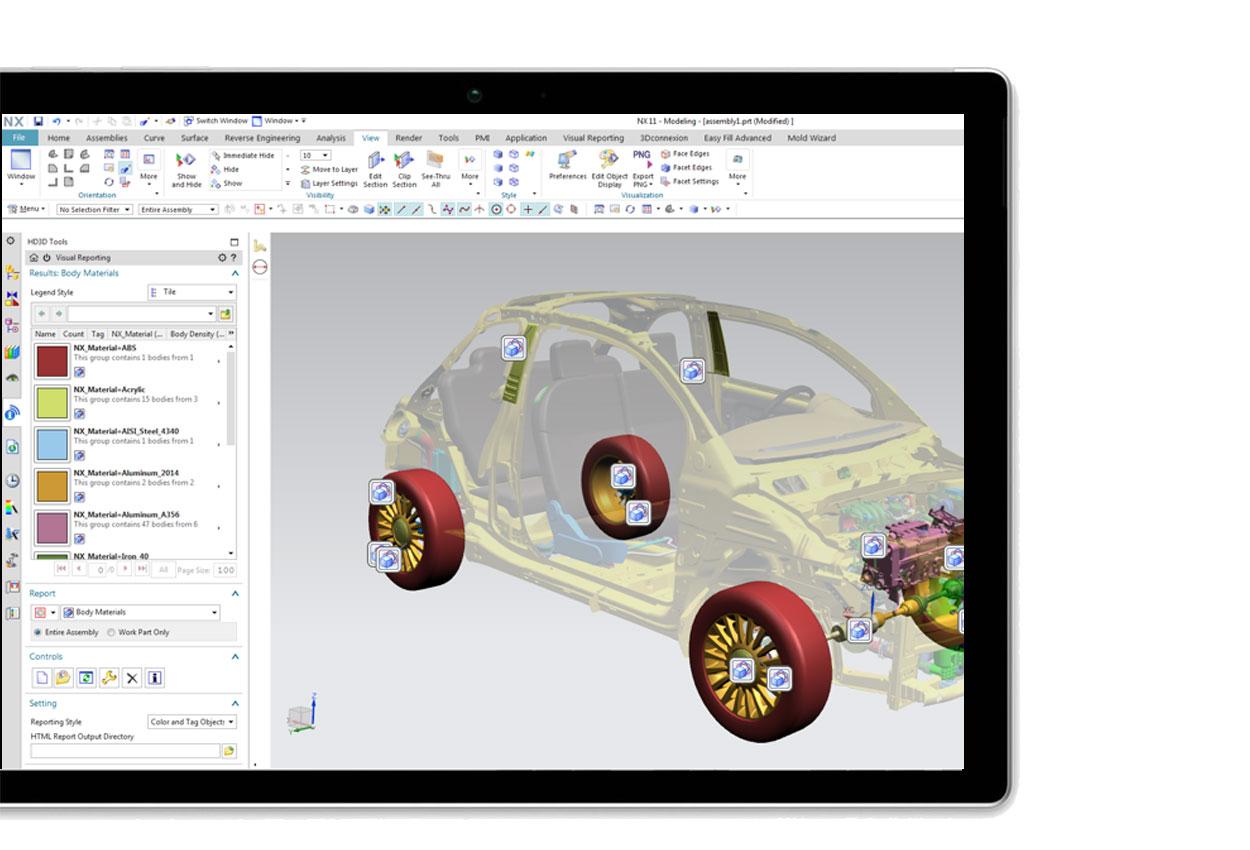 Siemens NX Design software is superior in power, versatility